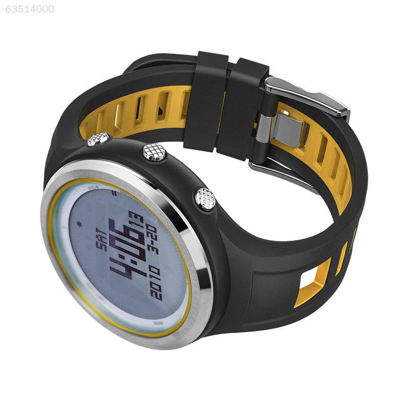02A2 Outdoor Sports Wrist Watch Barometer FR800NA Compass Altimeter Barometer Watch Waterproof 2b3fa1
