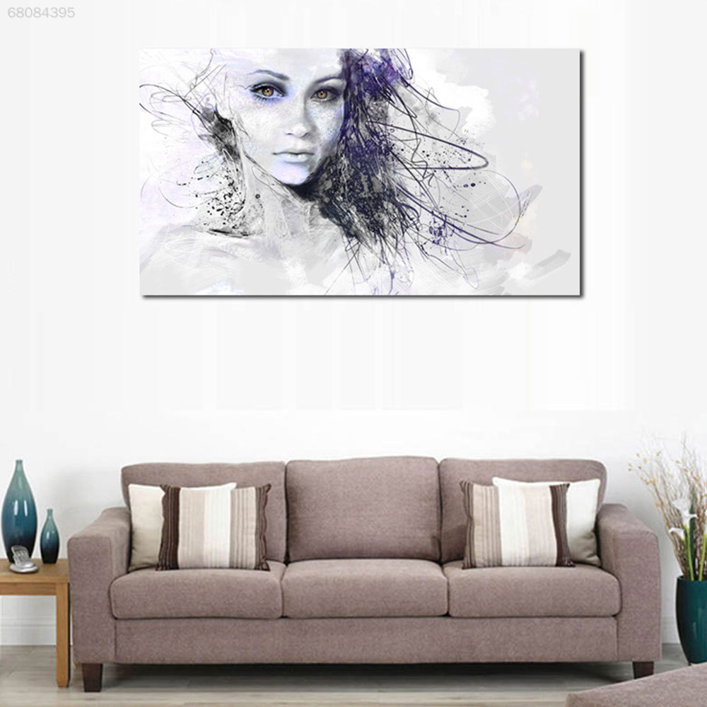 F443 Canvas Print Picture Canvas Painting LH Unframed Home Decor Gift Durable