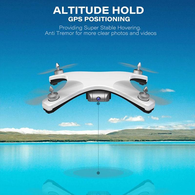 A66F A66F A66F 5G WIFI GPS 2.4Ghz HD CAMERA 4CH 6-Axis Gyro 1080P Drone Hover c725fc